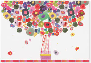 Box of 14 Notecards Candy Bouquet