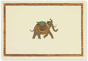 Box of 14 Notecards Elephant Festival