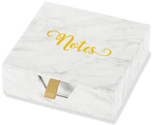 Desk Notes Marble