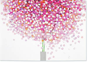 Box of 14 Notecards Lollipop Tree