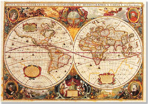Box of 14 Notecards Old World