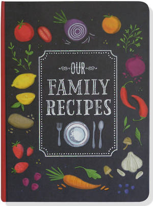 Our Family Recipes Organiser And Journal