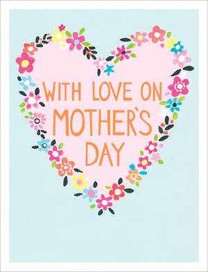 Mother's Day Card Jamboree With Love Heart