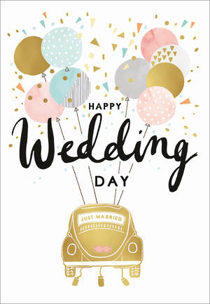 Wedding Card Louise Tiler Wedding Car