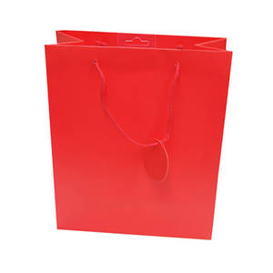 Large Gift Bag Red
