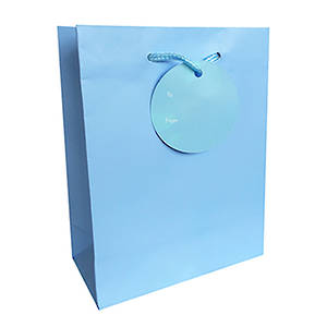 Large Gift Bag Turquoise
