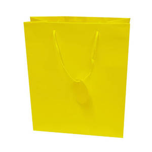 Large Gift Bag Yellow