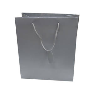 Large Gift Bag Silver