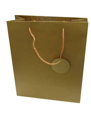 Large Gift Bag Gold