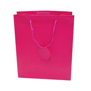 Small Gift Bag Cerise