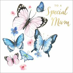 Mother's Day Card Clementine Butterflies
