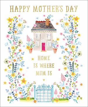 Mother's Day Card Home Is Where Mum Is