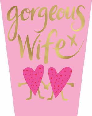 Mother's Day Card Oh So Bold Gorgeous Wife