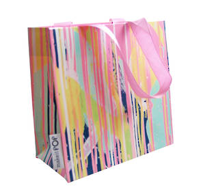 Gift Bag Small Rowena's Drips Pastel Neon