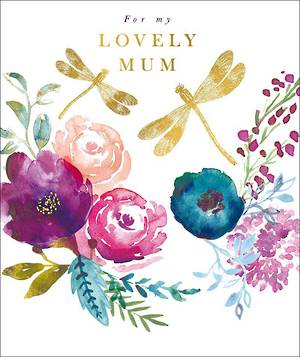 Mother's Day Card Rosella Lovely Mum
