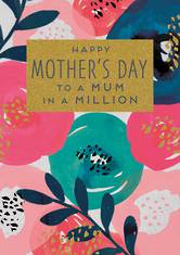 Mother's Day Card Aura Mum In A Million