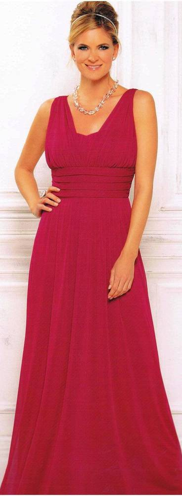 Grecian style gown with a sweetheart neckline - size 8 only