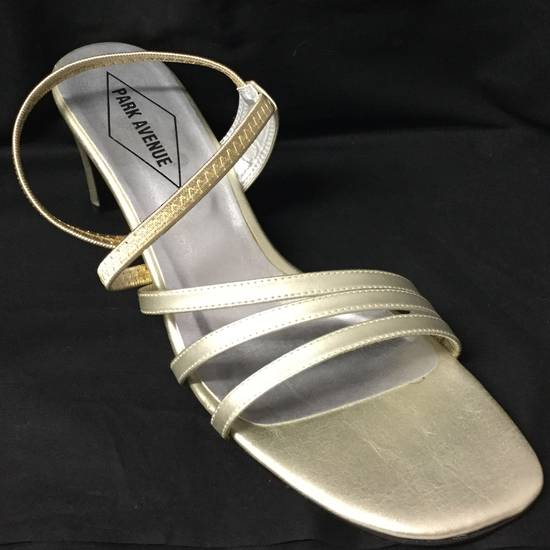 Gold strappy sandal shoe - ON SALE -$139.00 down to $50.00