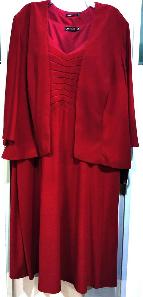 Ruby v neck dress and bolero
