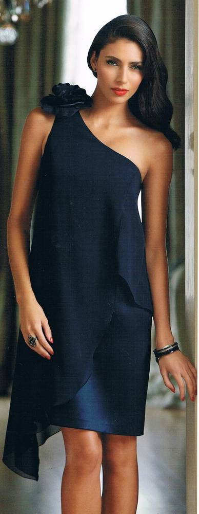 One shoulder dress - size 6 only  NOT THE COLOUR PICTURED