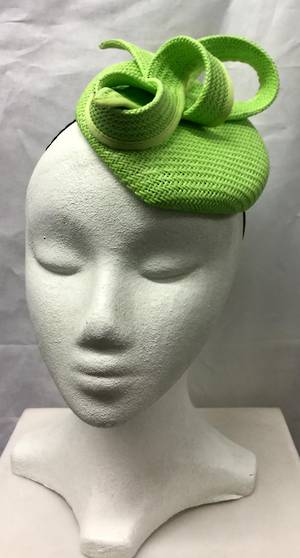 Lime cocktail hat