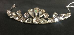 Swarovski crystal  teardrop tiara - one only