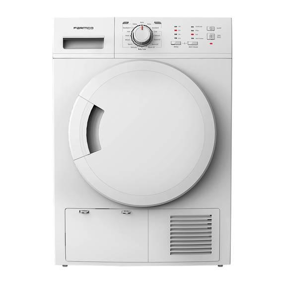 7KG Dryer, Heat Pump, White