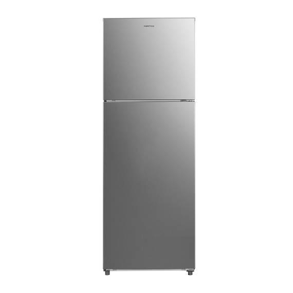 362L Fridge Freezer, Top Mount, Silver