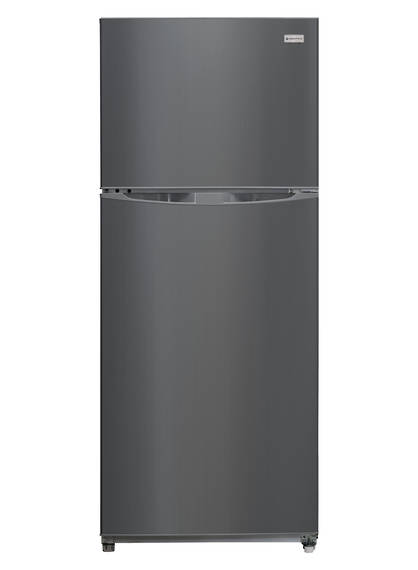 400L Fridge Freezer, Single Door, Polar Grey (DISCONTINUED)