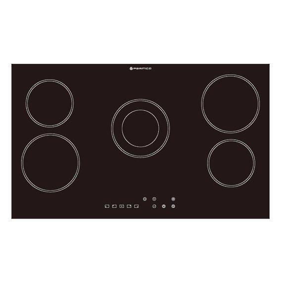 900mm Hob, Ceramic, Frameless, Touch Control