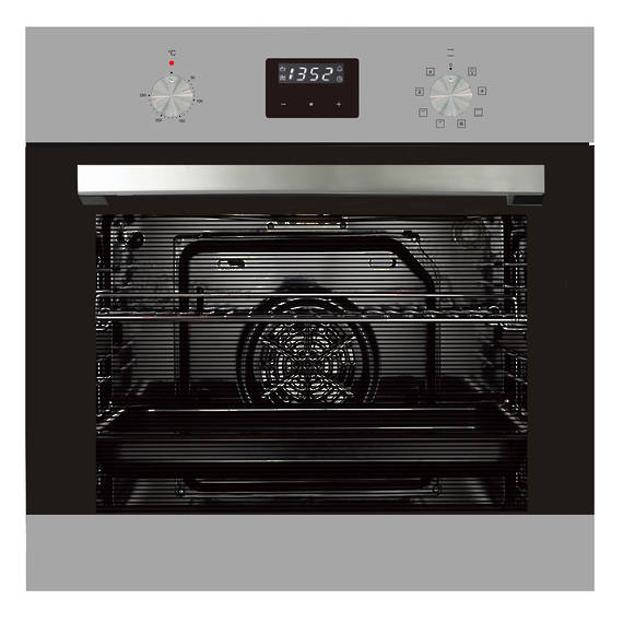 600mm 76Litre Oven, 8 Function, Stainless Steel (DISCONTINUED)