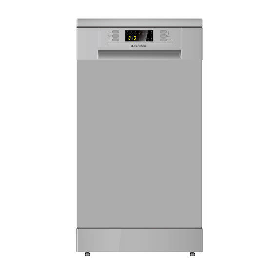 450mm Freestanding Dishwasher, Slim, Economy, Silver (DISCONTINUED)
