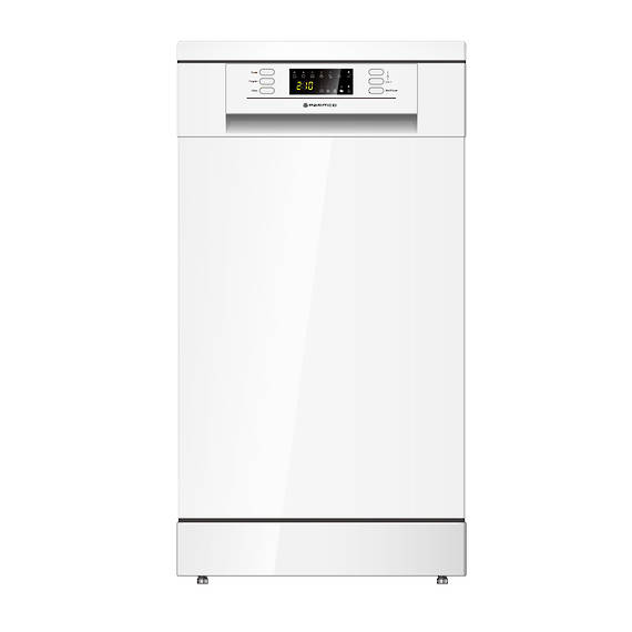 450mm Freestanding Dishwasher, Slim, Economy, White