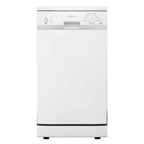 450mm Freestanding Dishwasher, Slim, Economy, White (DISCONTINUED)