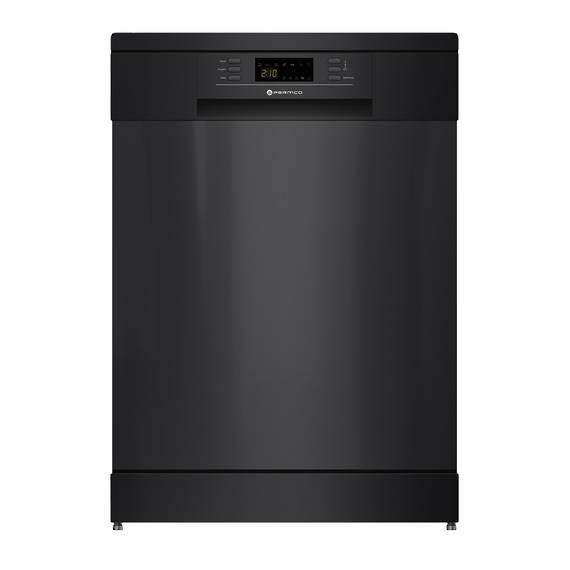 600mm Freestanding Dishwasher, LED Display, Black