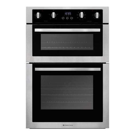 600mm Double Oven, 8 + 4 Function, Stainless Steel (DISCONTINUED)