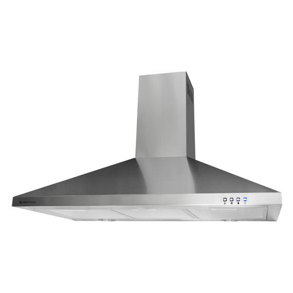 900mm Lifestyle Canopy, Stainless Steel, LED