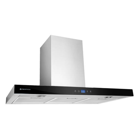 900mm Canopy, LCD Low Profile, Stainless Steel, LED