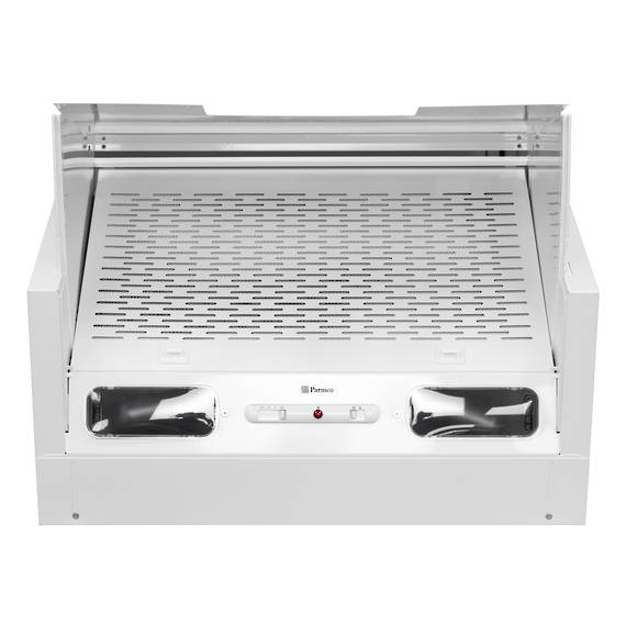 600mm Tilta Front Rangehood, White, Air Capacity Up To 480m3/hour (DISCONTINUED)