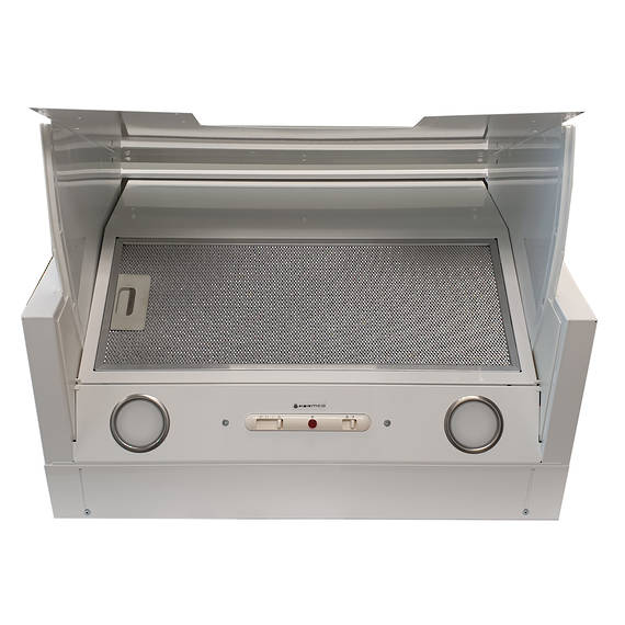 600mm Tilta Front Rangehood, White, Air Capacity Up To 1000m3/hour (DISCONTINUED)