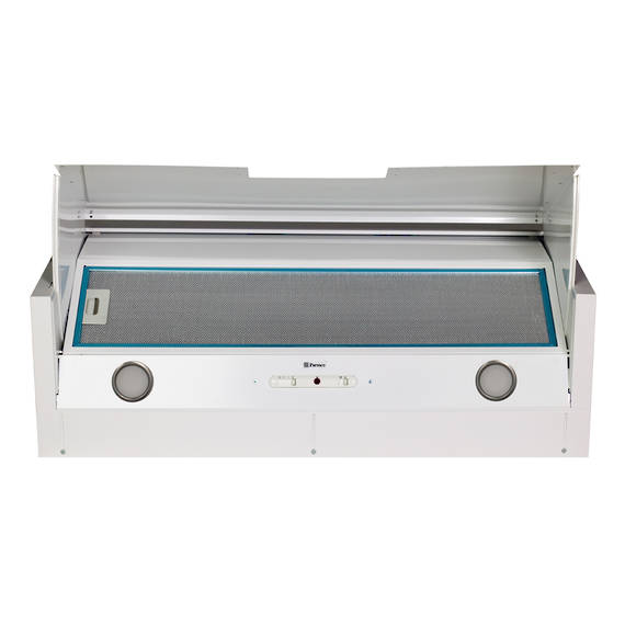 900mm Tilta Front Rangehood, White, Air Capacity Up To 1000m3/hour (DISCONTINUED)