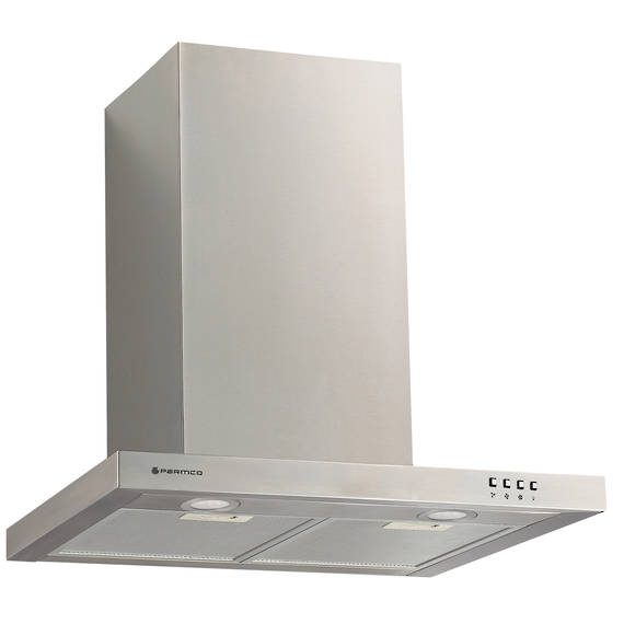 600mm Canopy, Slim Box, Stainless Steel, LED