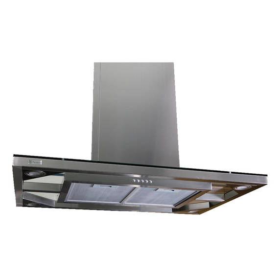 900mm Island Canopy, Low Profile, Glass (DISCONTINUED)