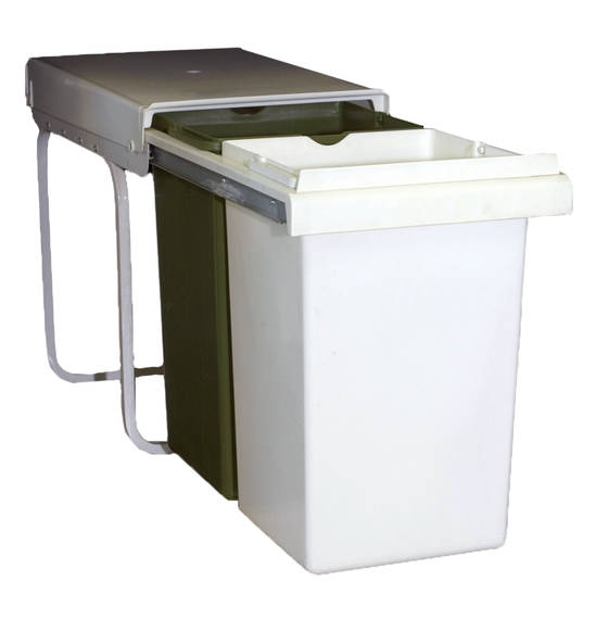 Telescopic Double Bin, Pull Out (DISCONTINUED)