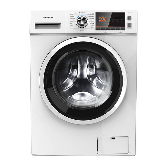 10KG Washing Machine, White, Front Load