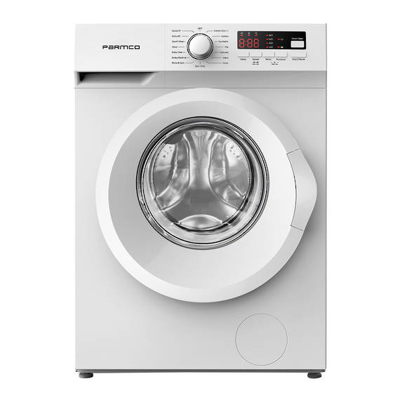 7.5KG Washing Machine, White, Front Load