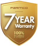 Parmco-7-Year-Warranty-Gold-100 web