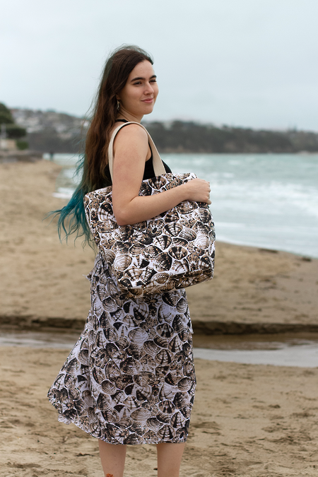 Driftwood Sarong + Canvas Bag