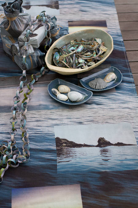 Coastal Collage Table Runner