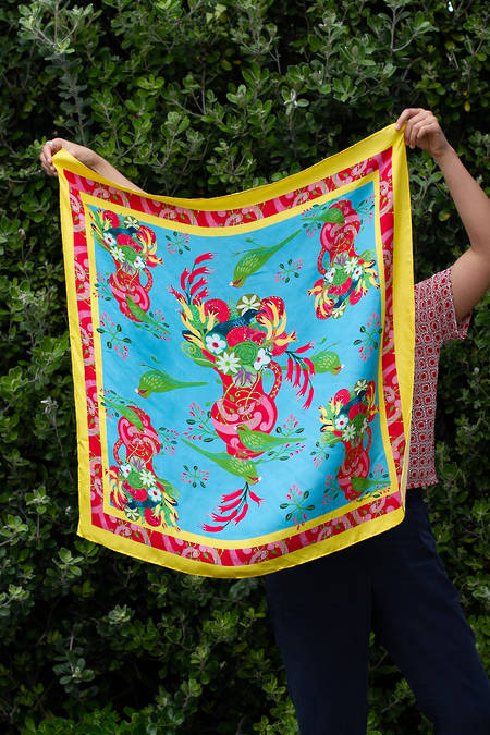 Kakariki Silk Limited Edition Scarf